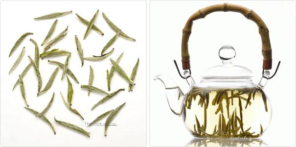 chinese spring green tea 2013 bai hao yin zhen